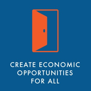 Create economic opportunities for all
