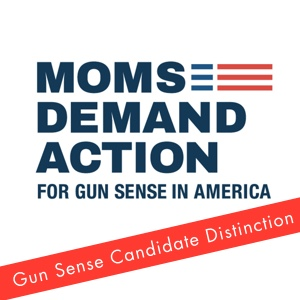 Moms Demand Action - Gun Sense Candidate Distinction